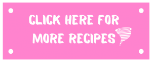 pink button with the words click here for more recipes